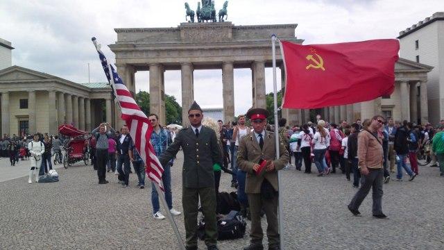 Erinnerung an die Teilung von Berlin und Deutschland