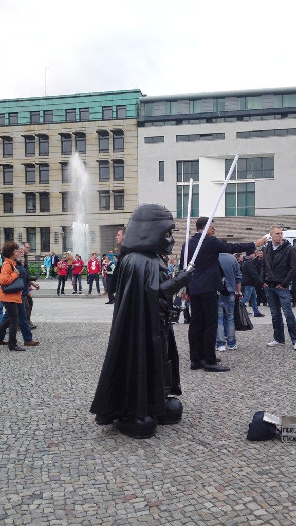 Darth Vader war auch dabei.