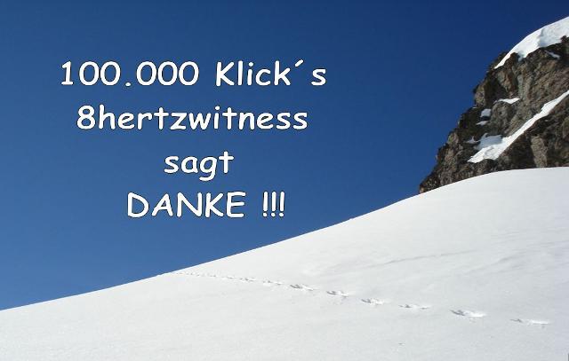 100.000 Klick´s Danke!!!